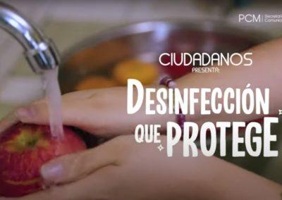Pasos para desinfectar tus alimentos y protegerte del Covid-19 [VIDEO]