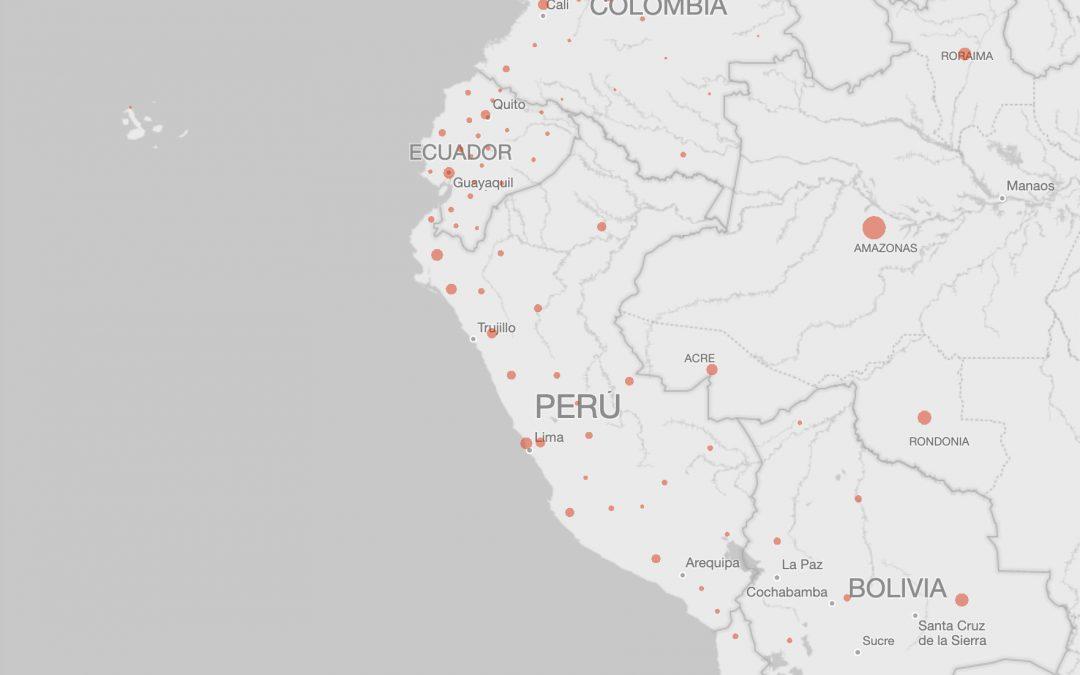 Evolución de la pandemia en el Perú