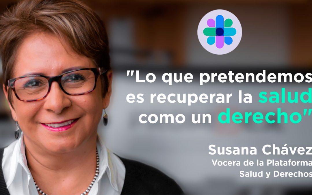 Una plataforma para defender el derecho a la salud de los peruanos