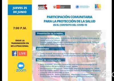 Participación comunitaria para la protección de la salud en el contexto del COVID-19 [VIDEO]