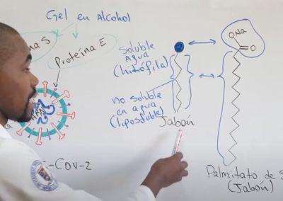 Jabón vs Alcohol al 70% en Gel contra el Coronavirus [VIDEO]